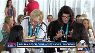 Delray Beach Open ladies luncheon 2/21