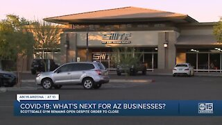 Scottsdale gym apparently defying state's order to close