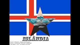 Bandeiras e fotos dos países do mundo: Islândia [Frases e Poemas]