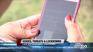School threats and lock down protocol
