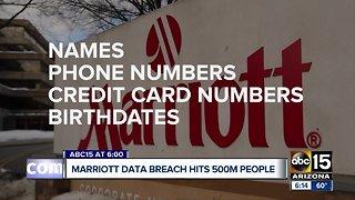 Mariott data breach hits 500 million people