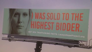 Local woman becomes face of sex trafficking campaign