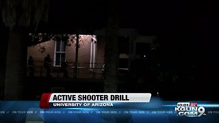 Active shooter drill held at the University of Arizona