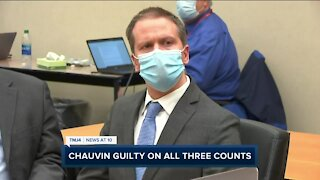 Derek Chauvin found guilty of all charges in murder of George Floyd