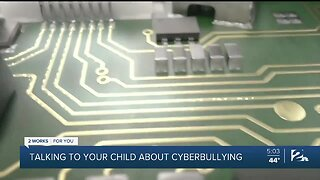 Talking to your child about cyberbullying