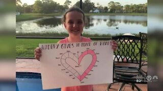 Jupiter girl raising thousands to give others hope