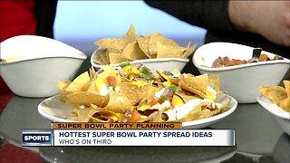 Super Bowl spread ideas
