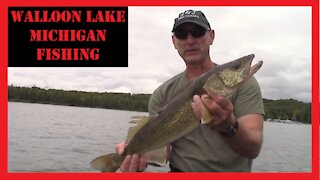 Walloon Lake Fishing Northern Michigan