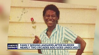 Family seeking answers after murder nearly two decades ago goes unsolved