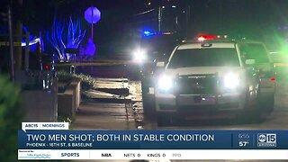 Two men shot in Phoenix