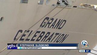 Grand Celebration cruise ship returns from Bahamas