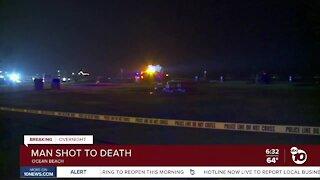 Man shot to death in Ocean Beach