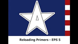 Homemade Primers: EPS 5 Part 1 - Primers made with Styphnic Acid