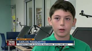Carlos Pasquotto | Local students competing in Scripps National Spelling Bee