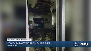 House fire in Lehigh Acres