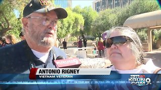 Tucson parade honors veterans 10pm