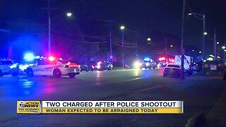 Woman to be arraigned Wednesday in police shootout