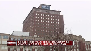 Henry Ford Health reaches capacity at 2 hospitals treating COVID-19 patients