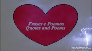 Meu peito em dia de trovão, fazem meu amor por você brilhar! [Poesia] [Remake] [Frases e Poemas]