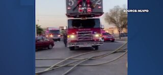 UPDATE: Child rescued from North Las Vegas house fire has died