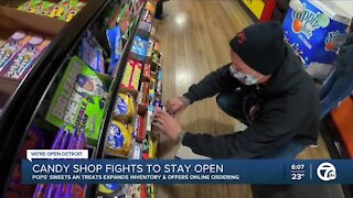 Local candy store fights to stay open amidst the pandemic