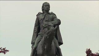 Calls to remove Custer statue in Monroe