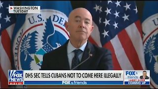 DHS Sec Warns Cubans: 'You Will Not Come To The U.S'