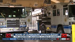 Resource funds approved for Kern County Fire Department