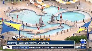 Water parks opening