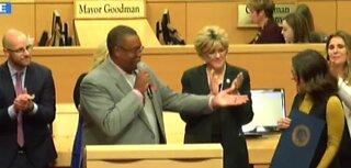 Aces honored by Las Vegas City Council