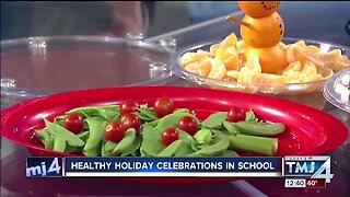 How to make school holiday celebrations healthy