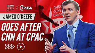 James O'Keefe Goes After CNN At CPAC