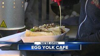 We're Open: Egg Yolk Cafe