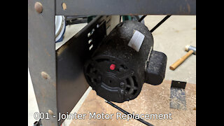 Jointer Motor Replacement