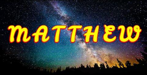 Word of God - Matthew - Book 40