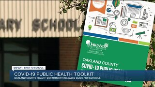 Oakland County Health Department gives schools 'toolkit' for opening