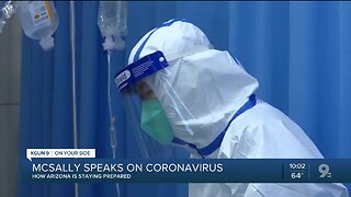 Senator McSally speaks out following first Coronavirus related death in U.S..