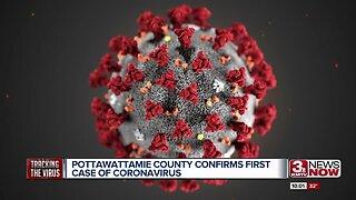 Pottawattamie County coronavirus case