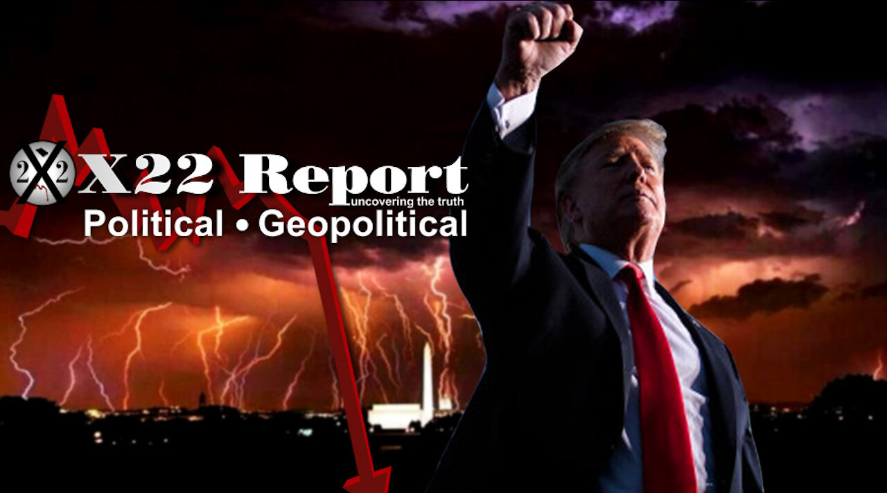 X22Report:  [Swamp] Fighting Back To Weather The Storm! We Are At The Precipice! Patriots Are Ready! - Must Video