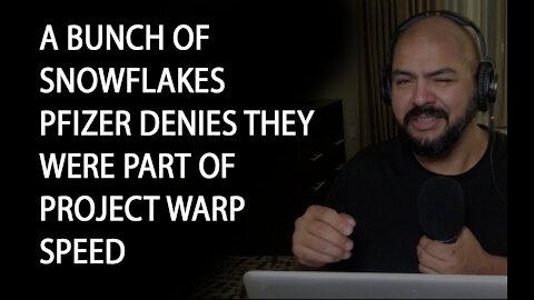 Latino atino Conservative Ep 40 Pfizer denies they were part of Operation Warp Speed