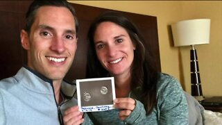 Local couple who thought they'd never conceive gets a double blessing