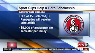 Sports Clips offering 'Help a Hero' scholarships