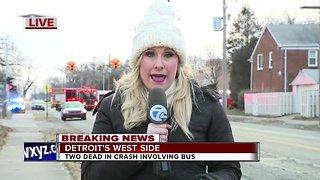 2 killed in Crash in Detroit
