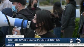 Outcry over deadly police shooting