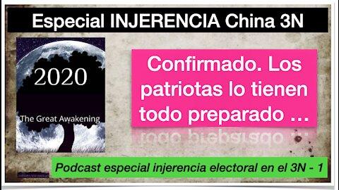 Especial sobre la injerencia china en las elecciones americanas del 3N