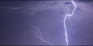 Lightning over Carrier Drive