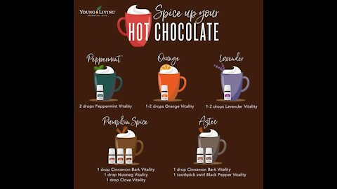 Hot Chocolate with Essential Oils