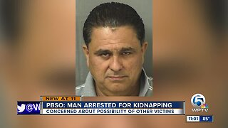 Palm Beach County man accused of kidnapping teen boy