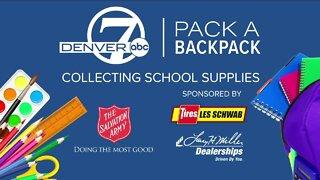 Pack A Backpack // Les Schwab