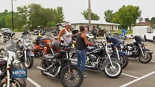 Motorcyclists ride for suicide prevention awareness